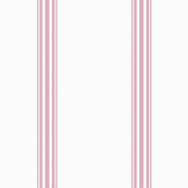 Pink French Ticking Stripe Feed sack Grain sack Cottage Stripe