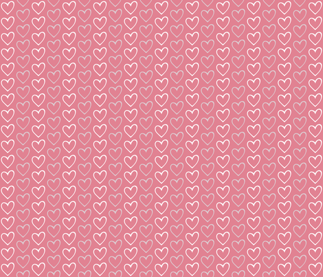 Open Hearts fabric by brendazapotosky on Spoonflower - custom fabric