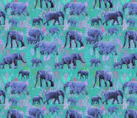 Rteal_painted_elephants_base_spoonflower_shop_preview