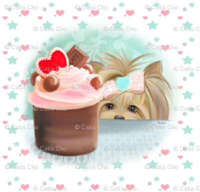 Forbiden Cupcake small pattern