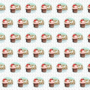 Forbiden Cupcake small pattern