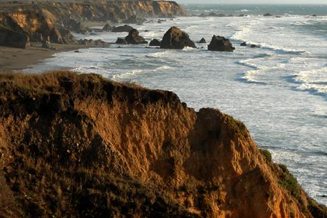 California coast fabric by pjp on Spoonflower - custom fabric