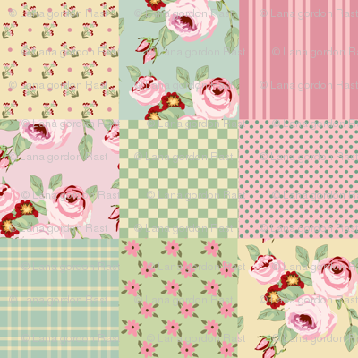 Faded_Rose_Cheater_Quilt