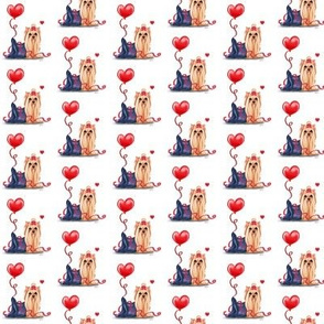 Yorkie Valentine Small