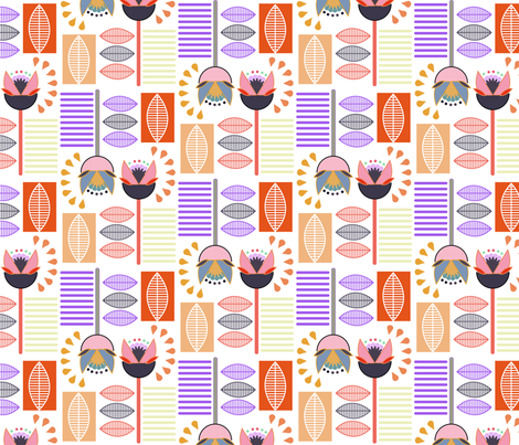gracie_1 fabric by madmelody on Spoonflower - custom fabric