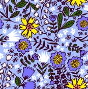 Amelia, pastel cornflower