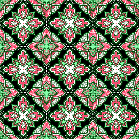 Watermelon Coordinate fabric by jadegordon on Spoonflower - custom fabric