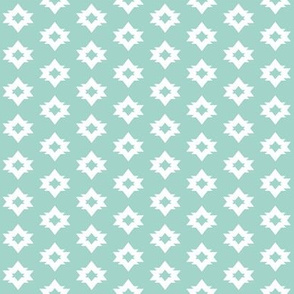 aztec // mint nursery triangle tribal kids simple coordinate nursery baby