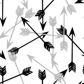 arrows // arrow black and grey arrows