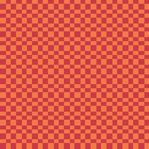 Spring odd grid - red