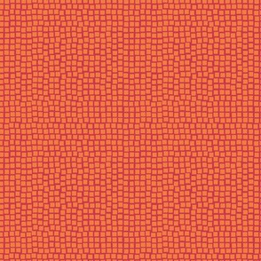 Spring mosaic - small - red