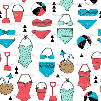 beach // vacay summer ocean coconut swimsuit swimming ocean