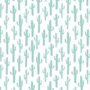 cactus // mint southwest spirit animals southwest aztec mint nursery baby kids cacti