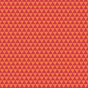 Spring pyramids - red