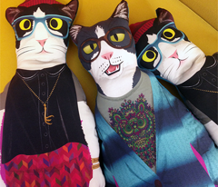 hipster kitty dolls