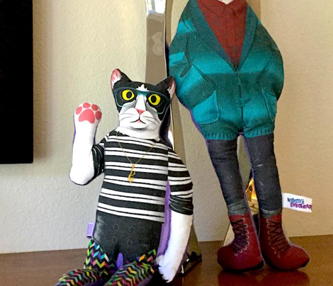 DYNACAT Hipster Kitty Dolls