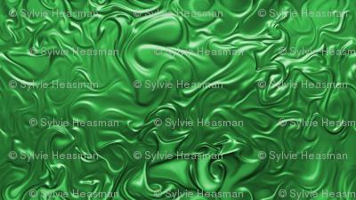 Green_Molten Swirl