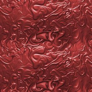 Rustic Red Molten Swirl