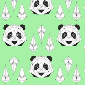 Panda - green