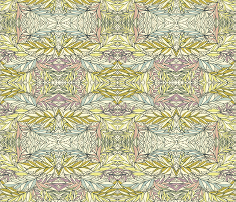 Walled Garden ll fabric by unclemamma on Spoonflower - custom fabric