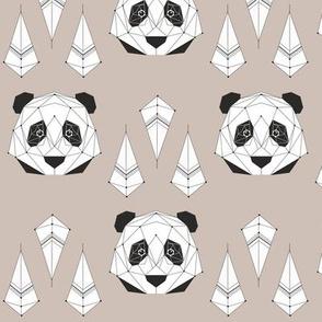 Panda - gray