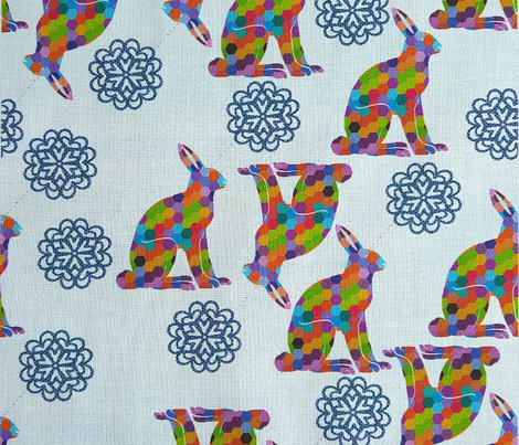 Hexagon hares