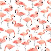 Flamingo Party (Large)