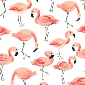 Flamingo Party (Large)
