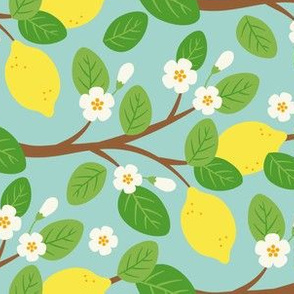 Lemon Tree Branches