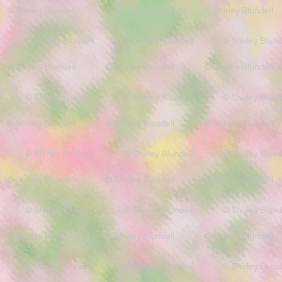watercolor blender pink and green