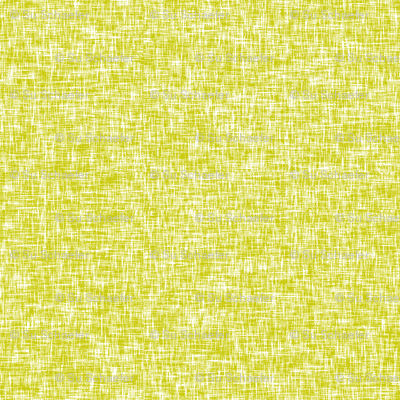 White on acid yellow, mid-century linen-weave LARGE by Su_G