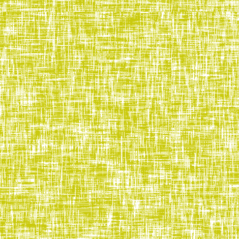 White on acid yellow, mid-century linen-weave LARGE by Su_G fabric by su_g on Spoonflower - custom fabric