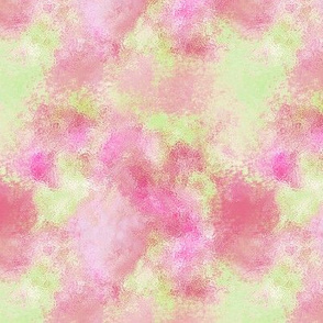 watercolor pink,  pale green