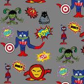 Alien Super Heroes