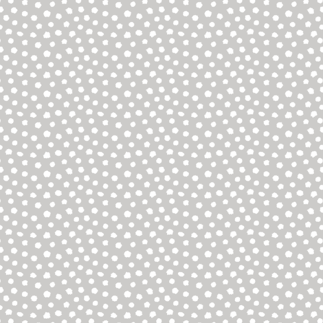 Ink spots white & grey fabric by revista on Spoonflower - custom fabric