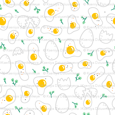 Eggs_pattern_on_white_background