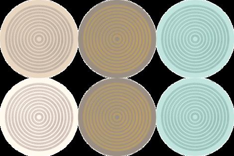 Spiral_Arrow42cm_x3 fabric by cush_barcelona on Spoonflower - custom fabric
