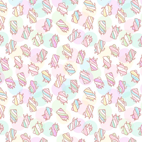 Rmarshmallow_characters_pattern_on_abstract_background_shop_preview