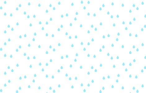 Rrclouds___rain_-_raindrops_aqua_on_white_shop_preview