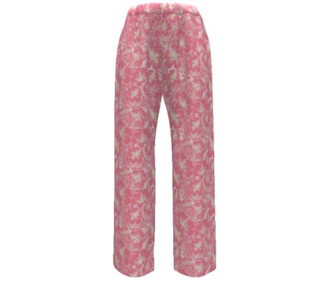Hibiscus Batik Peach on Tie Dye 300