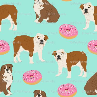 english bulldog bulldogs mint donuts sweet food bulldogs english bulldogs pet dog pets dogs puppy