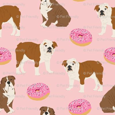english bulldog bulldogs pet dogs dog donuts doughnuts