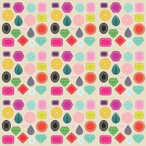 Gemstones *small print