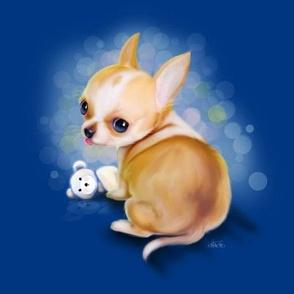 Chihuahua Blue Large