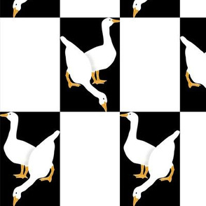 Checkerboard Geese