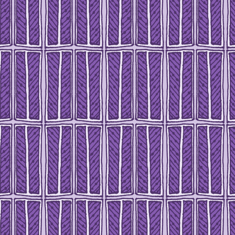 Sketch Box Alpha - Violet Door fabric by siya on Spoonflower - custom fabric
