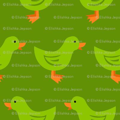 Ducks in a Row (Green)