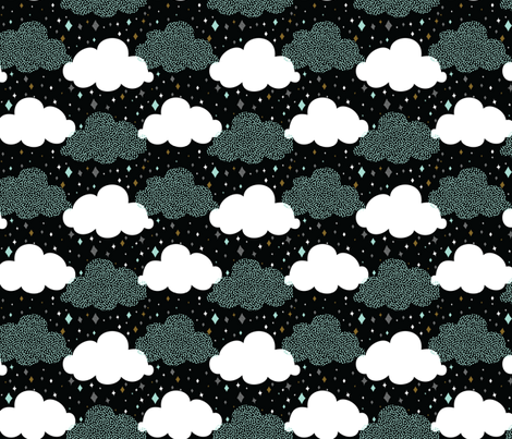 Dazzling Sky fabric by ginamayes on Spoonflower - custom fabric