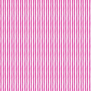 Fresh Day: Scruffy Pink Stripes