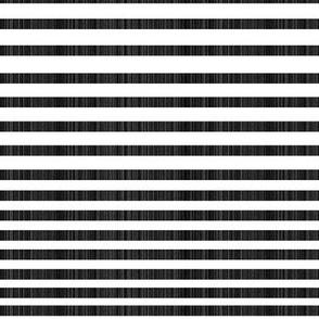 Variegated Linen Stripe, Half Scale